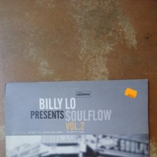 Discos de vinilo: BILLY LO – SOULFLOW VOL. 2 . LEGATO RÉCORDS. HOUSE.. Lote 136356948