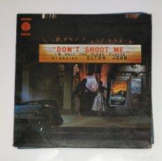 Discos de vinilo: ELTON JOHN. - DON'T SHOOT ME, I'M ONLY THE PIANO PLAYER.- LP. TDKDA44. Lote 136358046