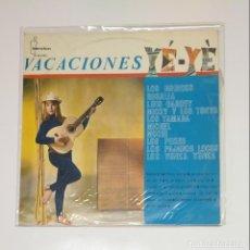 Dischi in vinile: VACACIONES YE-YE VARIOS ARTISTAS LOS PEKES, LOS PAJAROS LOCOS, LOS YENKA YENKA, LOS BRINCOS. TDKDA44. Lote 136360050