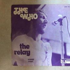 Discos de vinilo: THE WHO ?– THE RELAY SELLO: TRACK RECORD ?– 2094 106 FORMATO: VINYL, 7 45 RPM, SINGLE PAÍS: FRANC. Lote 136367834