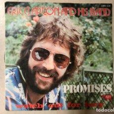 Discos de vinilo: ERIC CLAPTON AND HIS BAND ?– PROMISES SELLO: RSO ?– 2090 324 FORMATO: VINYL, 7 PAÍS: FRANCE . Lote 136368130