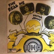 Discos de vinilo: THE WHO ?– THE REAL ME / DOCTOR JIMMY SELLO: TRACK RECORD ?– 2094 118 FORMATO: VINYL, 7 , 45 RPM . Lote 136368242