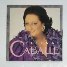 Discos de vinilo: ETERNAL CABALLE. MONTSERRAT CABALLE. DOBLE LP. TDKLP. Lote 136376810