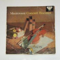 Discos de vinilo: EXITOS DE CONCIERTOS DE MANTOVANI. CONCERT ENCORES. LP. TDKDA45. Lote 136377182