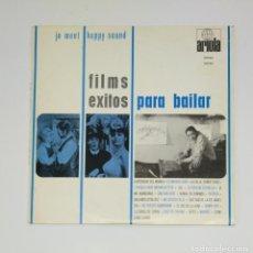 Discos de vinilo: JO MENT HAPPY SOUND. - FILMS, ÉXITOS PARA BAILAR - LP. TDKDA45. Lote 136377698