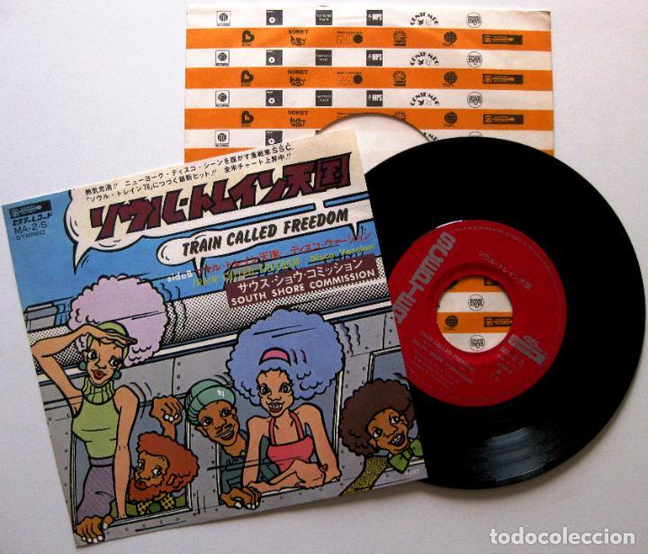 SOUTH SHORE COMMISSION - TRAIN CALLED FREEDOM - SINGLE SCEPTER 1976 JAPAN (EDICIÓN JAPONESA) BPY (Música - Discos - Singles Vinilo - Funk, Soul y Black Music)