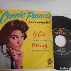Discos de vinilo: CONNIE FRANCIS-EP CELOS +3. Lote 136383034