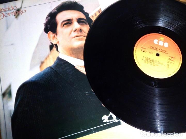 PLACIDO DOMINGO - CANCIONES MEXICANAS / LP / CBS / 1982 / BUEN ESTADO (Música - Discos - LP Vinilo - Clásica, Ópera, Zarzuela y Marchas)