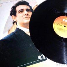 Discos de vinilo: PLACIDO DOMINGO - CANCIONES MEXICANAS / LP / CBS / 1982 / BUEN ESTADO. Lote 136384402