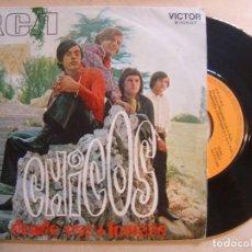 Discos de vinilo: CHICOS - DONDE VAS + LOUISSE - SINGLE 1970 - RCA. Lote 136387274