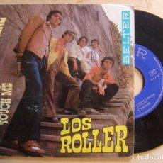 Discos de vinilo: LOS ROLLER - TOUCH ME + UNA CHICA QUE NO CONVIENE - SINGLE 1969 - BELTER. Lote 136387862