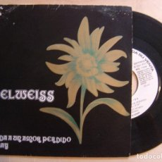 Discos de vinilo: EDELWEISS BALADA A UN AMOR PERDIDO + SUNDAY - SINGLE PROMOCIONAL 1973 - TOP. Lote 136390870