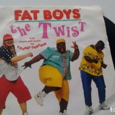 Discos de vinil: SINGLE (VINILO) DE FAT BOYS AÑOS 80. Lote 221693290