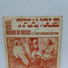 Discos de vinilo: SINGLE ** TRIANGLE ** RUIDO DE BOTAS ** COVER/ VERY GOOD+/ EXCELLENT ** SINGLE/ EXCELLENT ** 1971. Lote 136393250