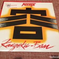 Discos de vinilo: ACCEPT -KAIZOKU-BAN- (1985) LP DISCO VINILO. Lote 136395810