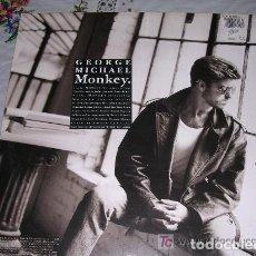 Discos de vinilo: GEORGE MICHAEL MONKEY MAXI SINGLE 1987. Lote 136397218