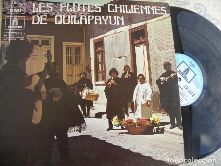 LES FLAUTES CHILIENNES DE QUILAPAYUN -LP -BUEN ESTADO (Música - Discos de Vinilo - EPs - Étnicas y Músicas del Mundo)