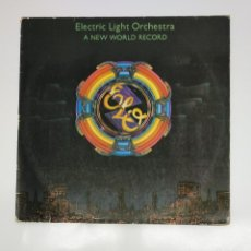 Discos de vinilo: ELO ELECTRIC LIGHT ORCHESTRA. A NEW WORLD RECORD. LP. TDKDA45. Lote 136399922