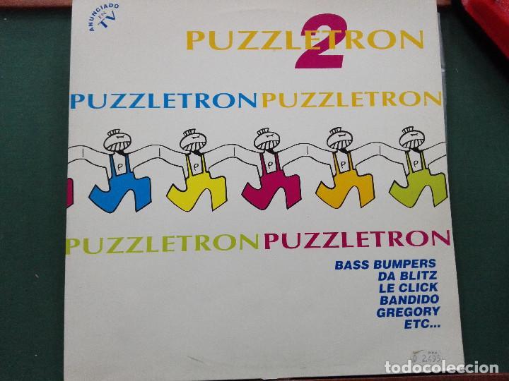 PUZZLETRON 2 . DOBLE LP.EDICION ESPAÑA 1994.REF BOY- LP035. VINILOS MUY BUEN ESTADO (Música - Discos - LP Vinilo - Disco y Dance)