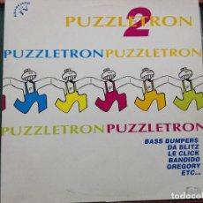 Discos de vinilo: PUZZLETRON 2 . DOBLE LP.EDICION ESPAÑA 1994.REF BOY- LP035. VINILOS MUY BUEN ESTADO. Lote 136406882