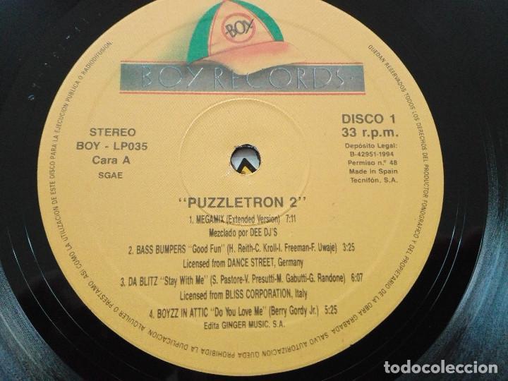 Discos de vinilo: PUZZLETRON 2 . DOBLE LP.EDICION ESPAÑA 1994.REF BOY- LP035. VINILOS MUY BUEN ESTADO - Foto 5 - 136406882