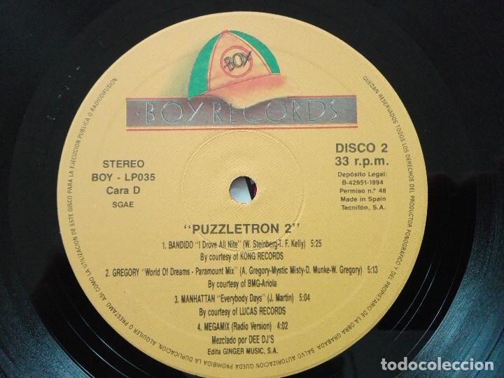 Discos de vinilo: PUZZLETRON 2 . DOBLE LP.EDICION ESPAÑA 1994.REF BOY- LP035. VINILOS MUY BUEN ESTADO - Foto 9 - 136406882