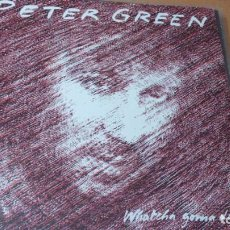 Discos de vinilo: PETER GREEN WHATCHA GONNA DO LP 1981. Lote 136413746