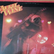 Discos de vinilo: APRIL WINE THE NATURE OF THE BEAST LP. Lote 136414402