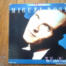Discos de vinilo: MIGUEL BOSE - THE EIGHTH WONDER - 5 USA REMIXES . Lote 136417878