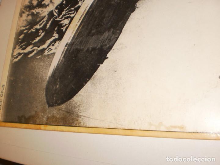 Discos de vinilo: lp led zeppelin. metallic opus. rec records 1980 USA (LABEL BLANCO, PROMOCIÓN, BUEN ESTADO LEER) - Foto 6 - 136418282