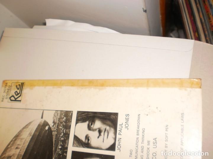 Discos de vinilo: lp led zeppelin. metallic opus. rec records 1980 USA (LABEL BLANCO, PROMOCIÓN, BUEN ESTADO LEER) - Foto 7 - 136418282