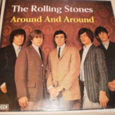 Discos de vinilo: LP THE ROLLING STONES AROUND AND AROUND. GERMANY DECCA 1970 (PROBADO Y BIEN SEMINUEVO). Lote 136421690