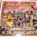 Discos de vinilo: LP DOBLE. SONGS WE TAUGHT THE FUZZTONES. 35 GARAGE CLASSICS. CARPETA DOBLE. WAY BACK GERMANY 1993. Lote 165795036