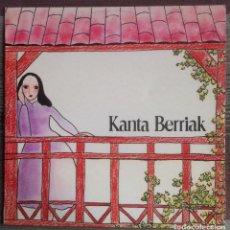 Discos de vinilo: KANTA BERRIAK - LP 1977 OLYMPO EDICIÓN ESPAÑOLA. Lote 136423942