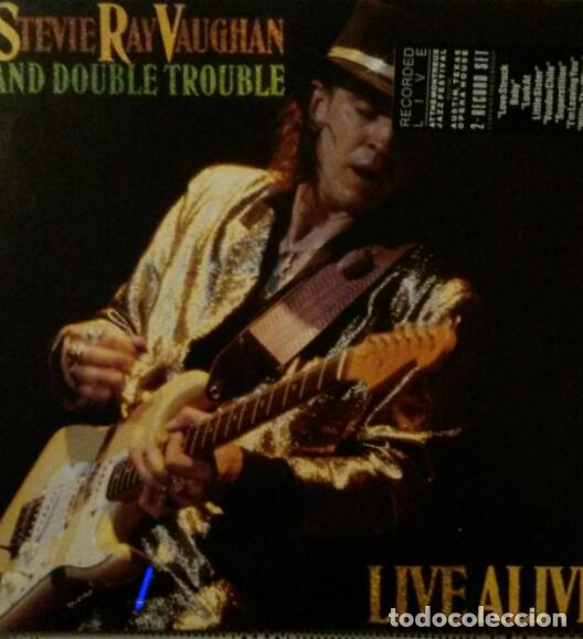 .STEVIE RAY VAUGHAN.LIVE ALIVE.2LP. (Música - Discos - LP Vinilo - Rock & Roll)