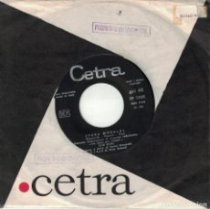 Disques de vinyle: ELIO CIPRI - SPARA MORALES / E' STATO UN EQUIVOCO (SINGLE ITALIANO, CETRA RECORDS SIN FECHA). Lote 136441630