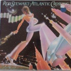 Discos de vinilo: ROD STEWART, ATLANTIC CROSSING. LP SUECIA CON FUNDA INTERIOR CON CRÉDITOS. Lote 136443350