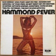 Discos de vinilo: HAMMOND SOUND LP SELLO BEACON EDIC INGLESA BIEN CONSERVADO. Lote 136443618