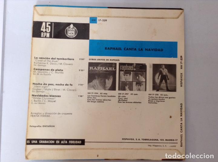 Discos de vinilo: Raphael single vinilo - Foto 2 - 136445868