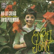 Dischi in vinile: ENRIET JOAN - NO LO CREAS / EN SEPTIEMBRE (SINGLE ESPAÑOL, EMI REGAL 1969). Lote 136445966