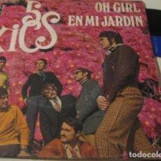 Discos de vinilo: 5 XICS - OH GIRL ************ RARO SINGLE MOD SOUL 1970 PROMO!. Lote 136446954