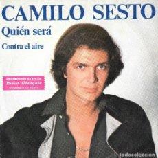 Discos de vinilo: CAMILO SESTO - QUIÉN SERÁ. Lote 136447418