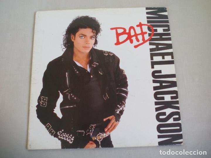 MICHAEL JACKSON. BAD. CBS 1987. LP VINILO segunda mano