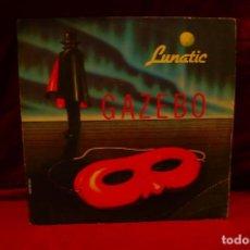 Discos de vinilo: .GAZEBO, LUNATIC / WRAP THE ROCK, BABY RECORDS, 1983. Lote 136459546