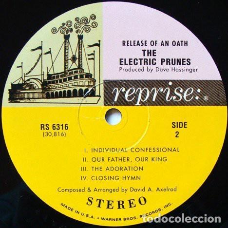Discos de vinilo: The Electric Prunes ?– Release Of An Oath Sello: Reprise Records ?– RS 6316 Formato: Vinyl, LP - Foto 4 - 136470422