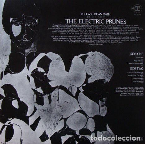 Discos de vinilo: The Electric Prunes ?– Release Of An Oath Sello: Reprise Records ?– RS 6316 Formato: Vinyl, LP - Foto 2 - 136470422