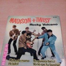 Discos de vinilo: ROCKY VOLCANO - MADISON +TWIST - MI TONTA MANO +3 - LEER ESTADO - VER FOTOS . Lote 136472886