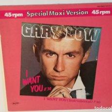 Discos de vinilo: GARY LOW - I WANT YOU - 1983. Lote 136473158