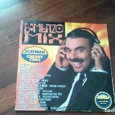 Discos de vinilo: BOMBAZO MIX-3 LP. Lote 136473918