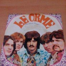 Discos de vinilo: MUY RARO - LE ORME - MILANO 1968 - MIEI SOGNI - ROCK PROGRESIVO ITALIANO - LEER ESTADO - VER FOTOS. Lote 136474390